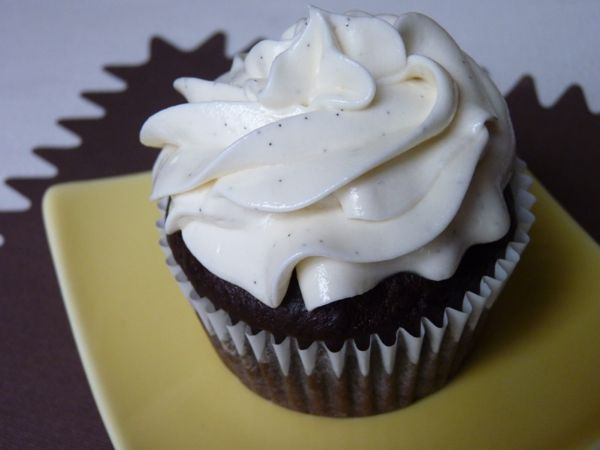 Vegan Chocolate Cupcakes with Vanilla Bean Frosting Recipe on Food52
