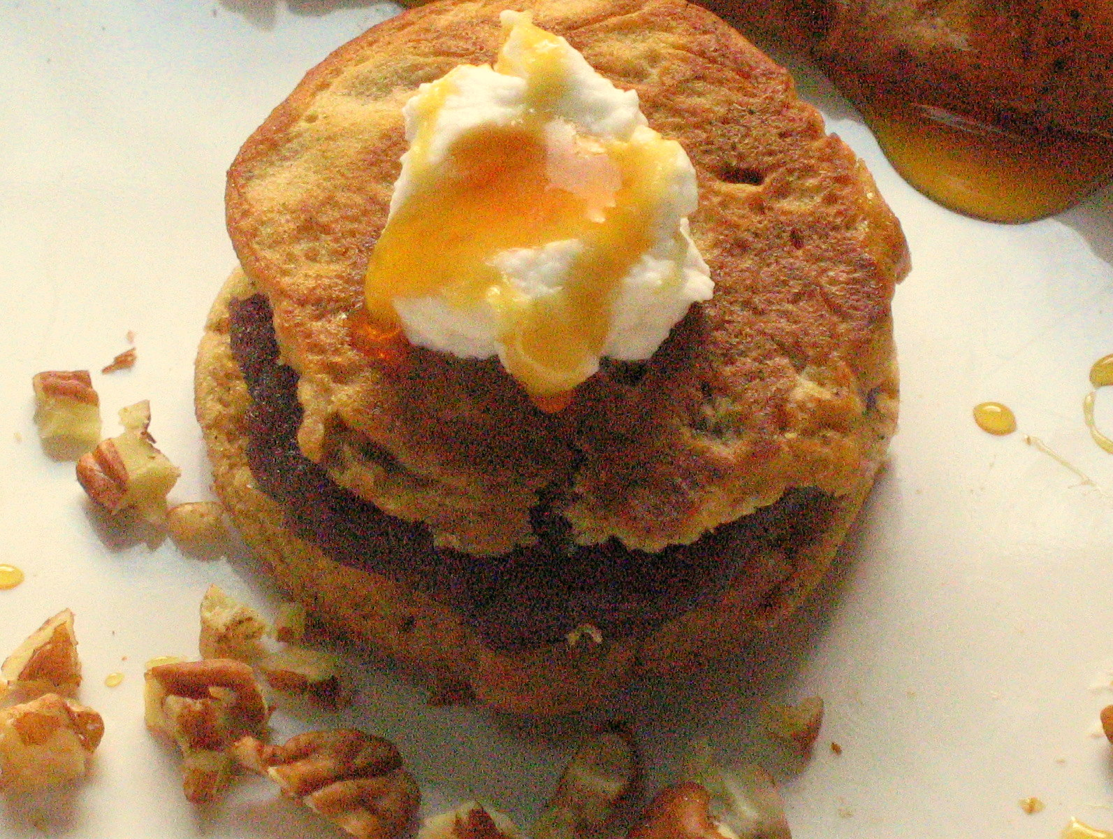 Wake Up Call! Spiced Thai Tea Multigrain Pancakes