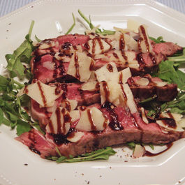 Steak_rucola_and_parmesan