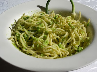 Garlic Scape Pesto