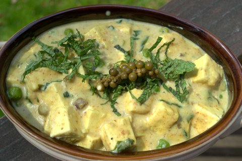   Ramp  Makhani (Paneer &amp; Peas in a creamy Ramp Sauce)