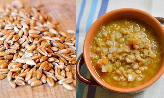 Farro &amp; Leek Soup
