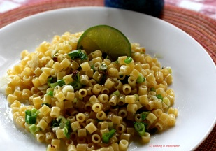 Green Garlic, Brown Butter and Lime Pasta