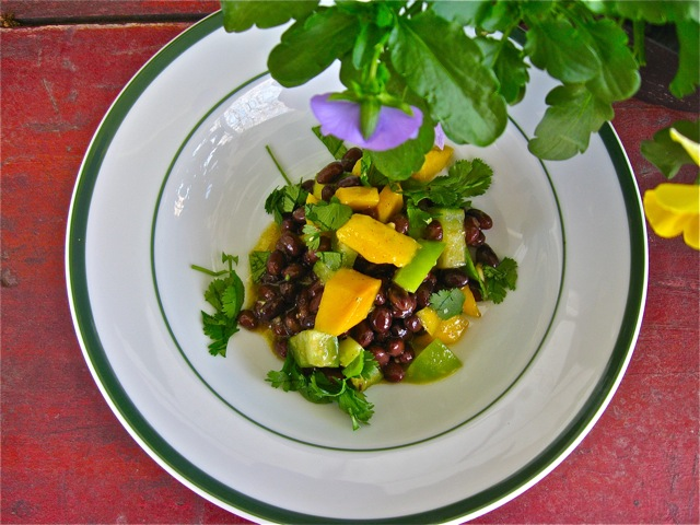 Mango &amp; Black Bean Salad