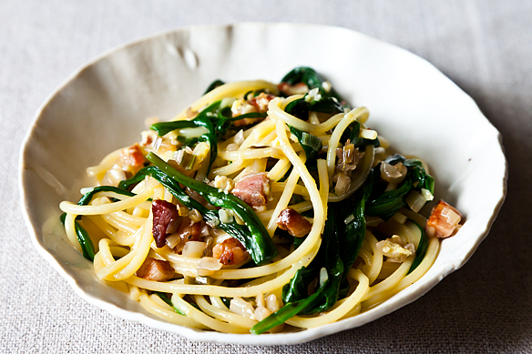 Ramp Carbonara Recipe on Food52