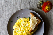 Daniel Patterson&#x27;s Poached Scrambled Eggs