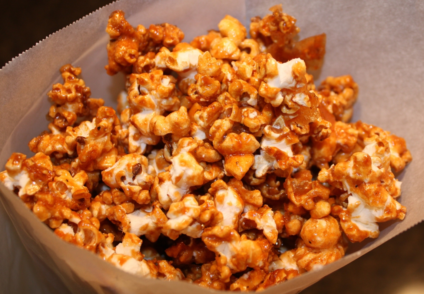 Twisted Caramel Corn