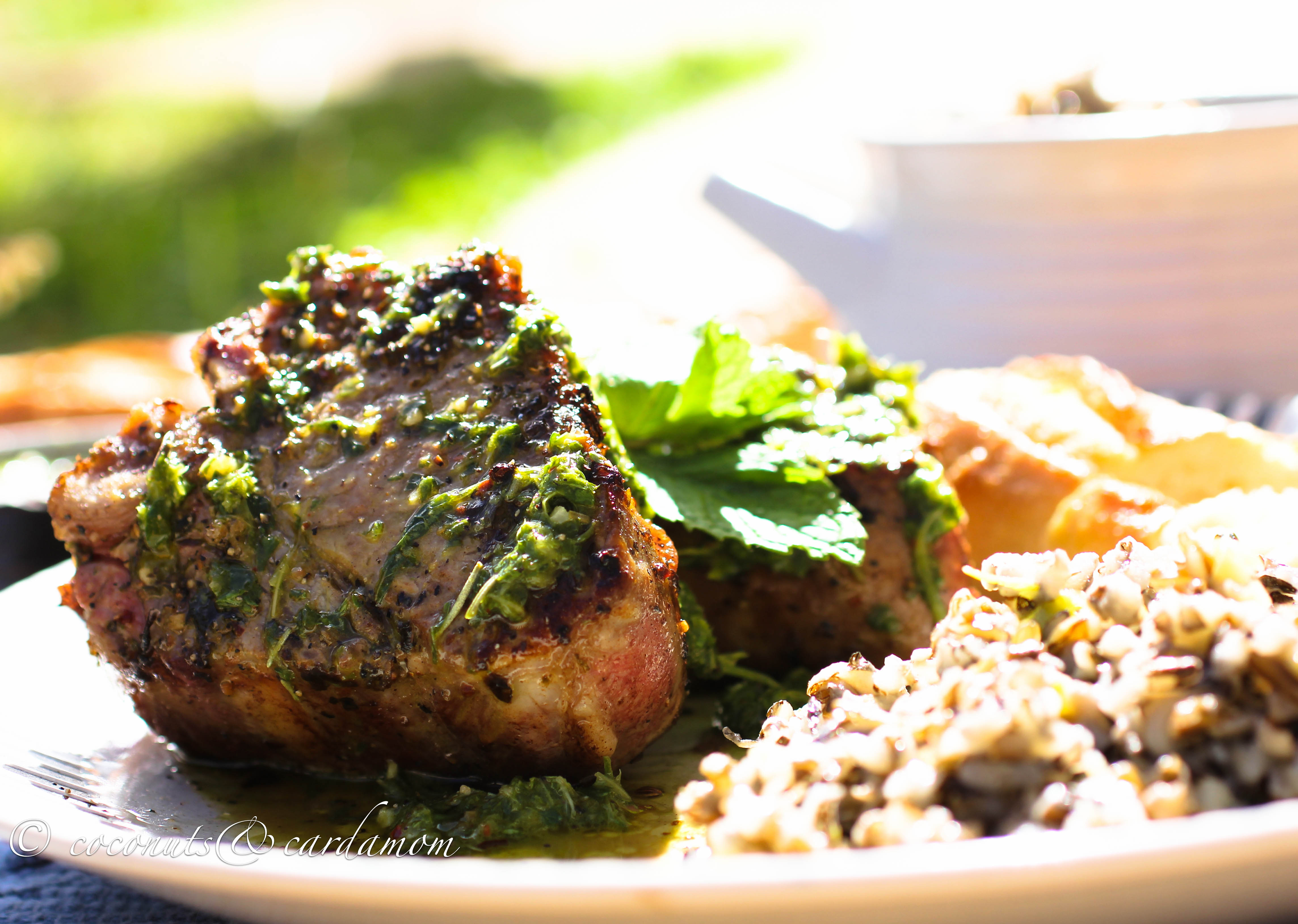 Chimichurri Lamb Chops Recipe on Food52