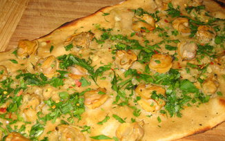 Clam Flatbread