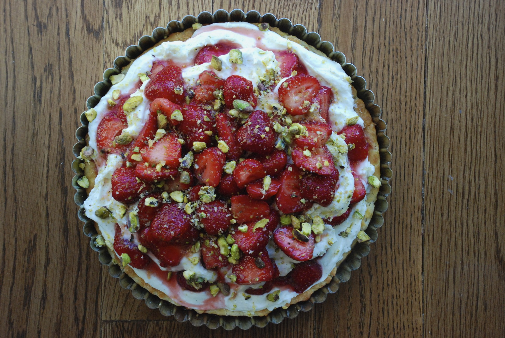 Strawberry Croissant Tart