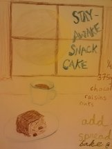 Stay-Awake Snack Cake