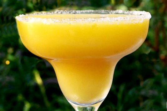 Smoky Mango Margarita with Cilantro