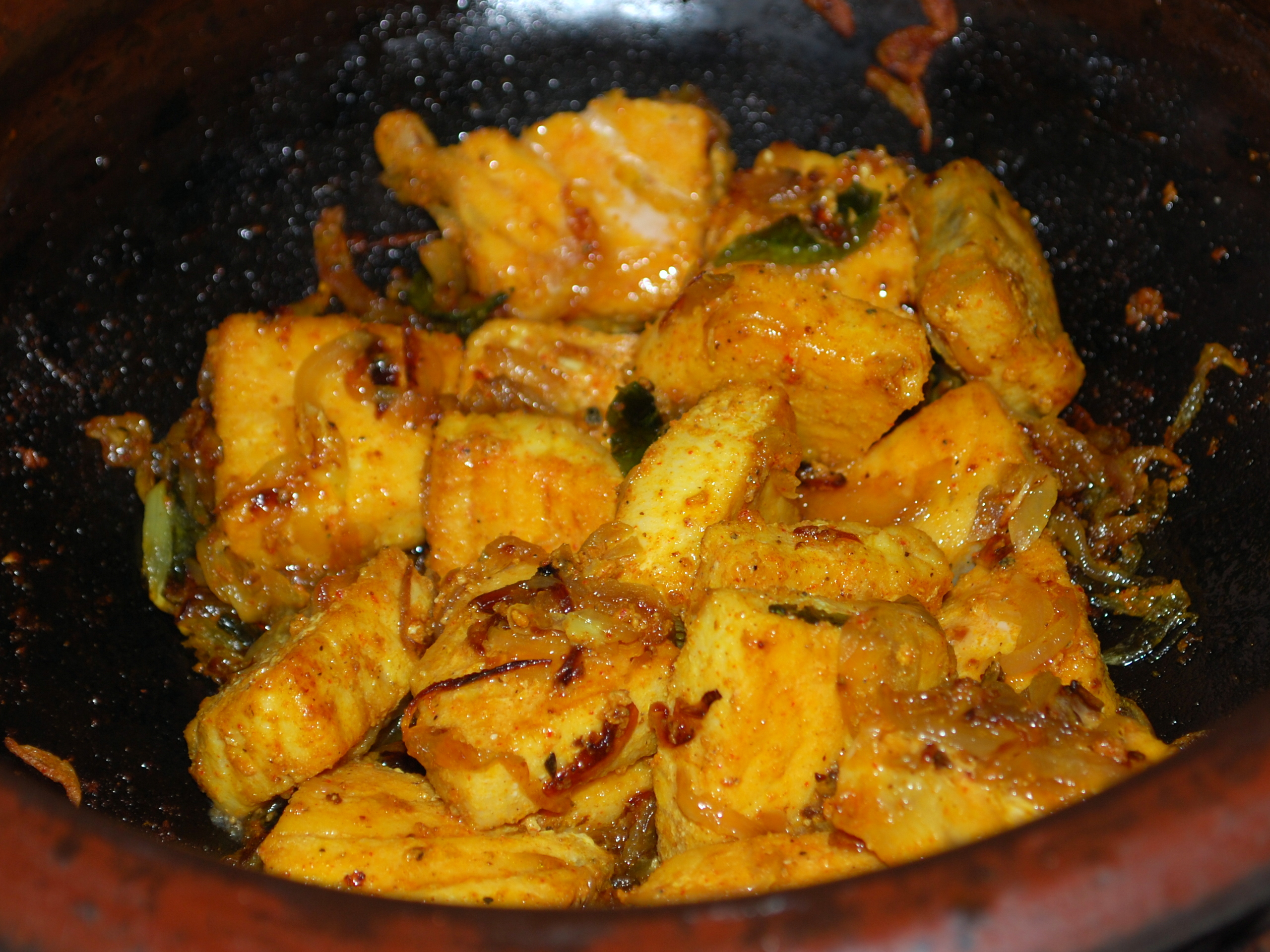 Mango  Fish Curry