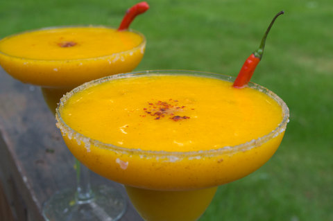 &#x27;Tangorita&#x27; (Mango tamarind margarita)