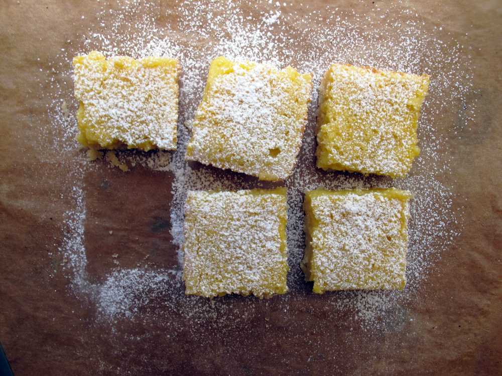 Lucas&#x27;s Luscious Lemon Bars
