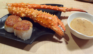 Crab with Miso Butter Sauce