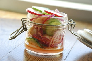 Quick Radish Relish