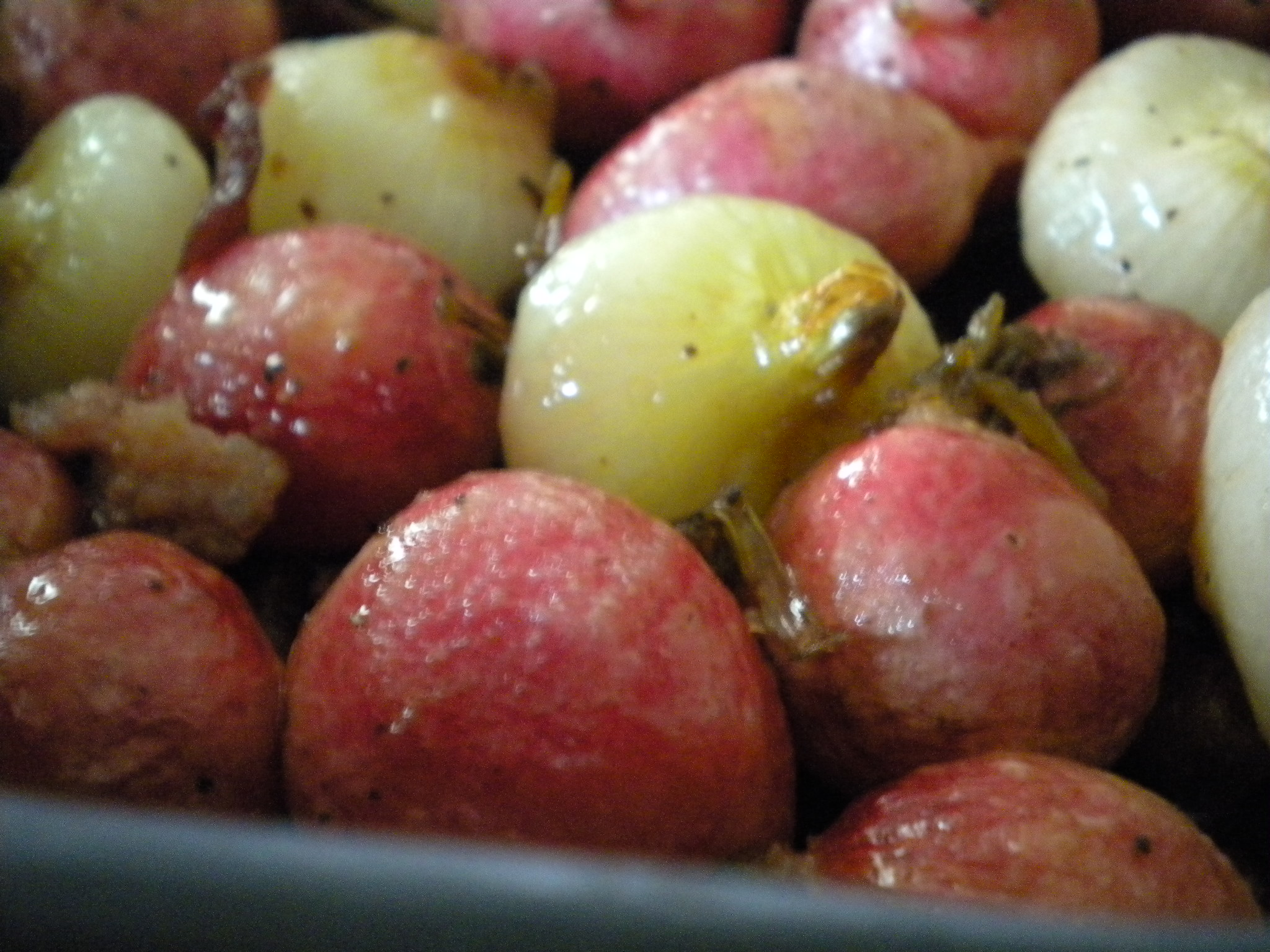 Radish Cippolini Roast