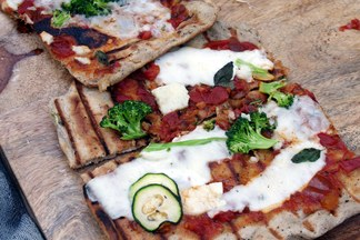 Neglected Starter Sourdough Pizza Crust/Skillet Flatbread/Grillbread