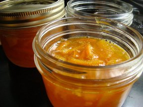 Tangerine-Passion Fruit Marmalade