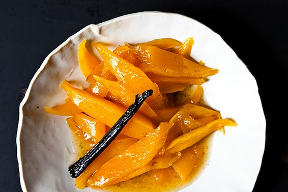 Roasted mango from Food52