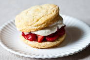 James Beard&#x27;s Strawberry Shortcakes