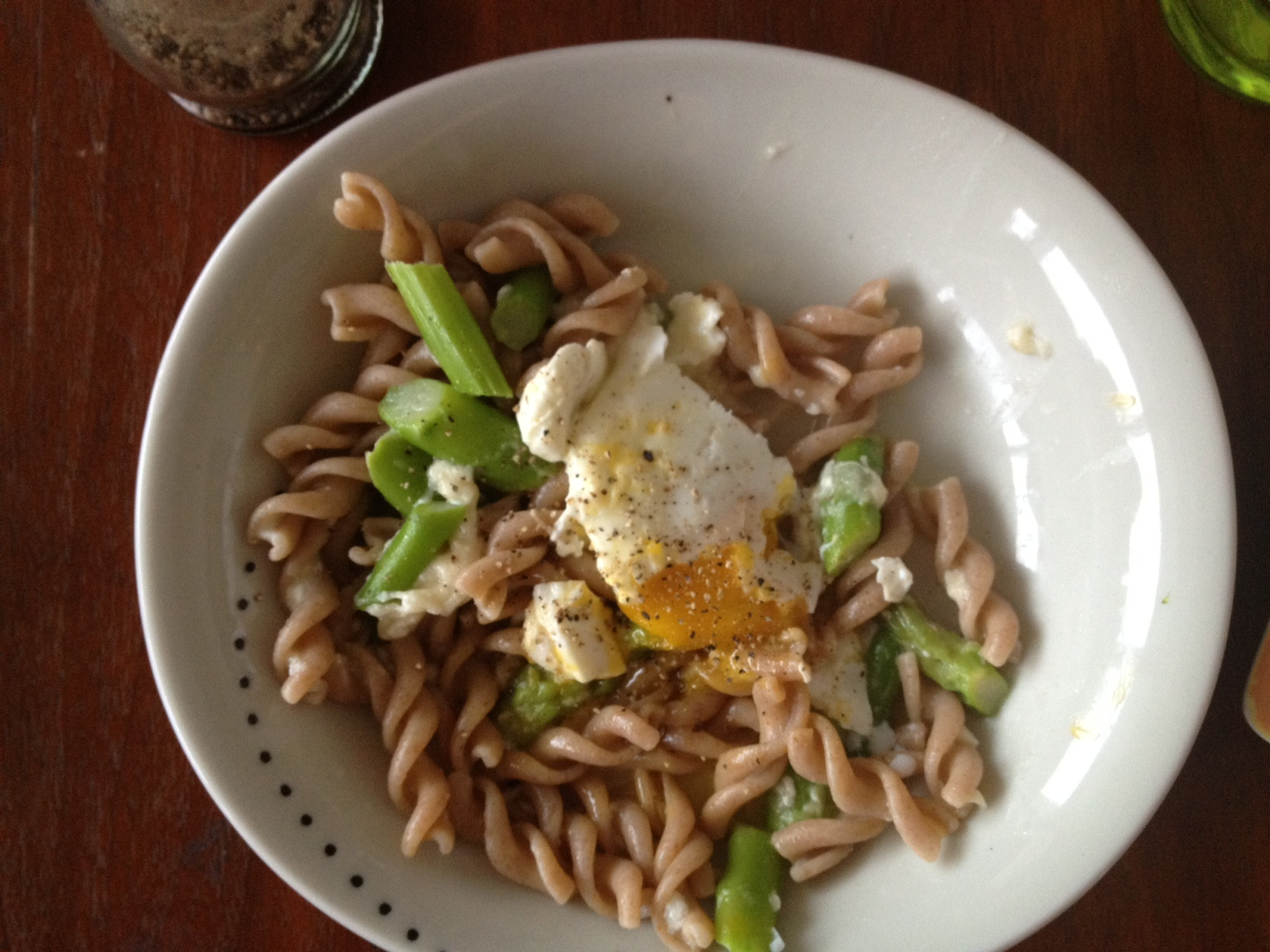 Lemon Scented Fusilli with Spring Asparagus