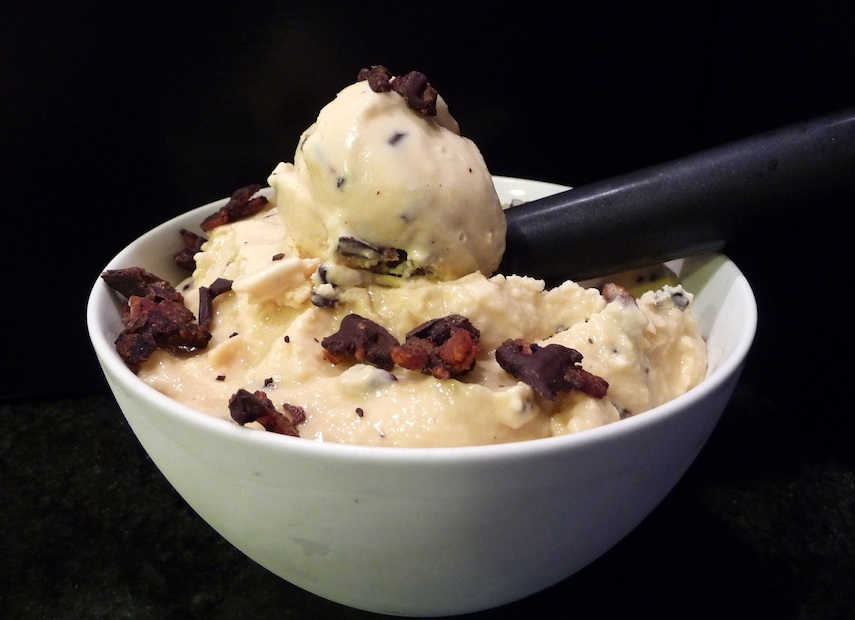 52 Scoops' Maple Chocolate Bacon Ice Cream