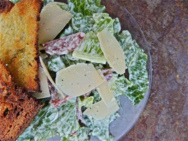 Caesar with Sopressata