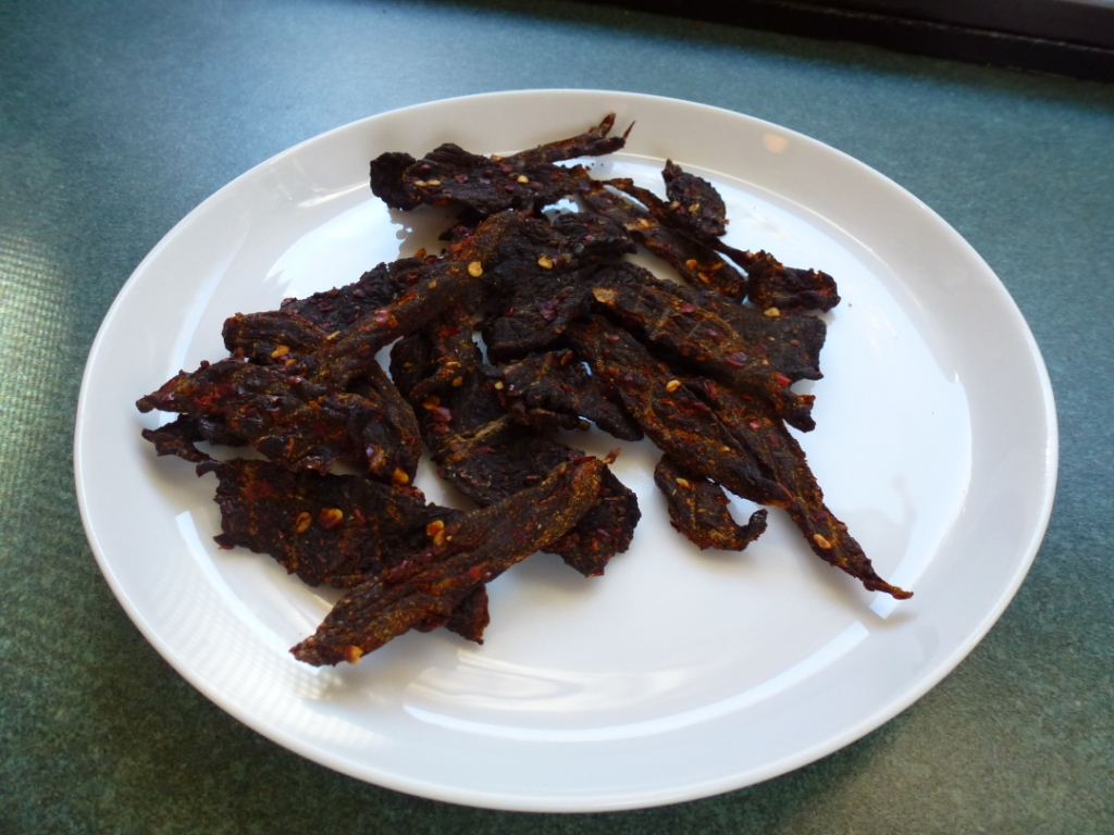 Duck Jerky a la Kate Hill of &quot;Camont&quot;