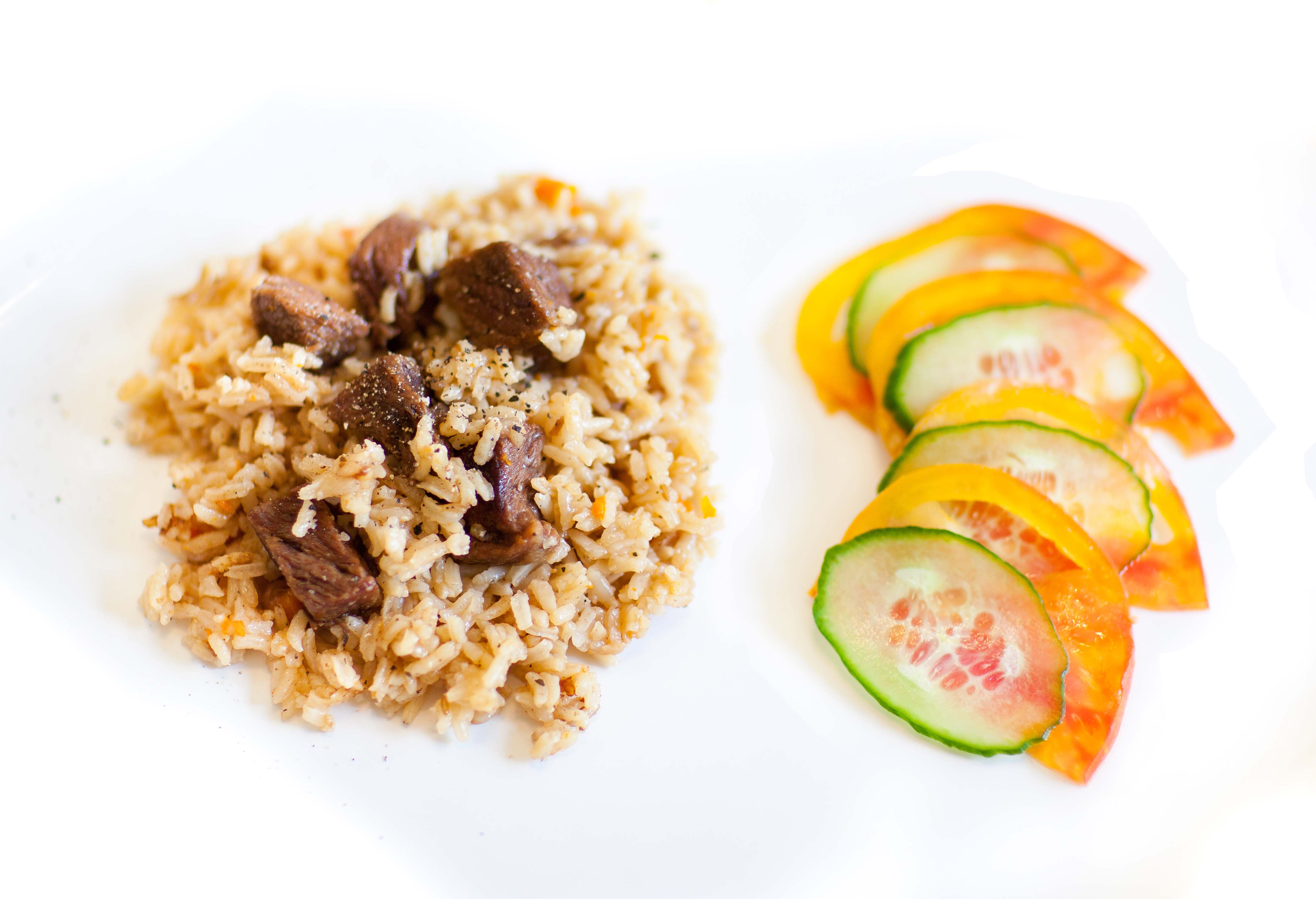 Cumin Ginger Pilaf with Beef