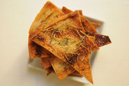 Rosemary Thyme Pita Chips