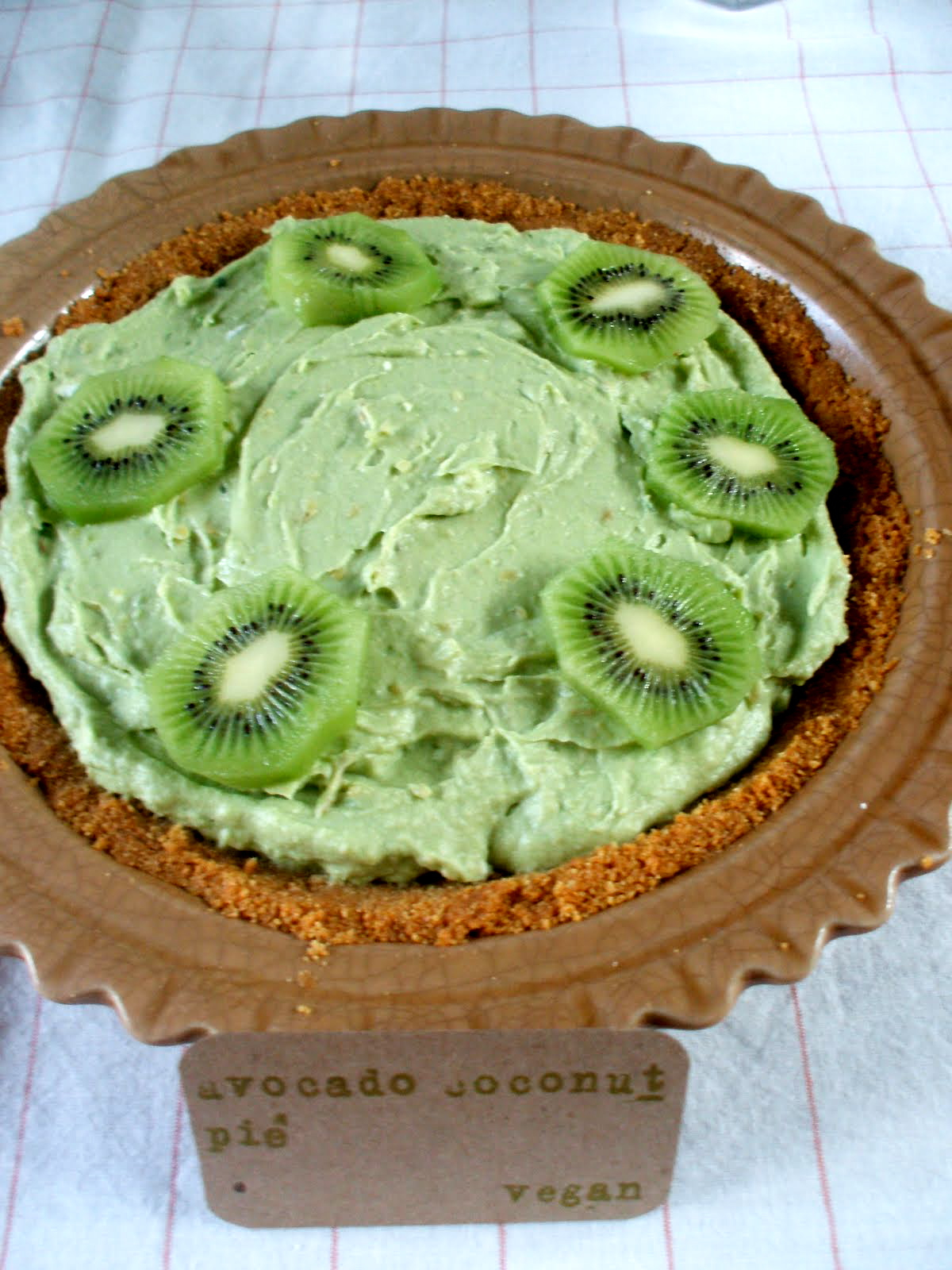 Avocado-Coconut Pie