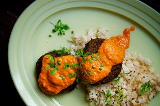 Lentil Cakes Tikka Masala