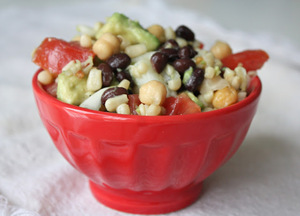 Avocado Bean Salad