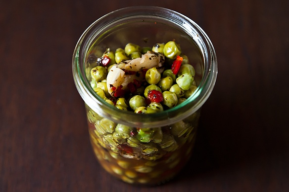 Pickled Peas