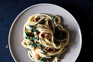 Swiss Chard and Lemon Ricotta Pasta