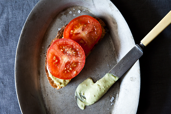 A Tomato Sandwich Worth of a Little Bacon on Food52