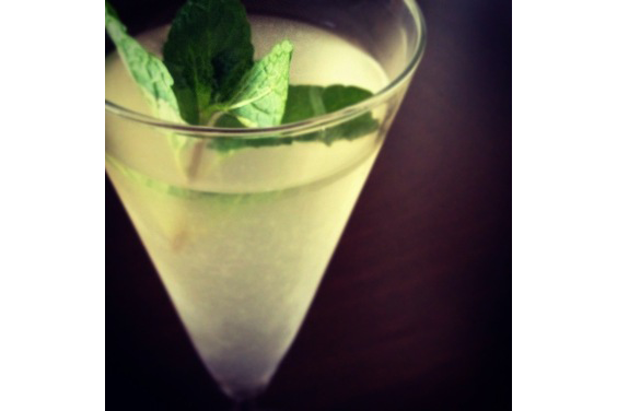Mint Infused Lemonade