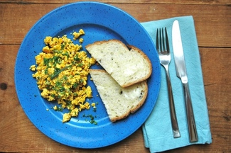 Tofu Scramble &amp; Advice for a Picnic