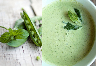 Pea and Mint Cream