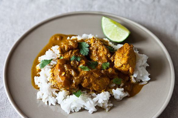 Cheap Curried Chicken