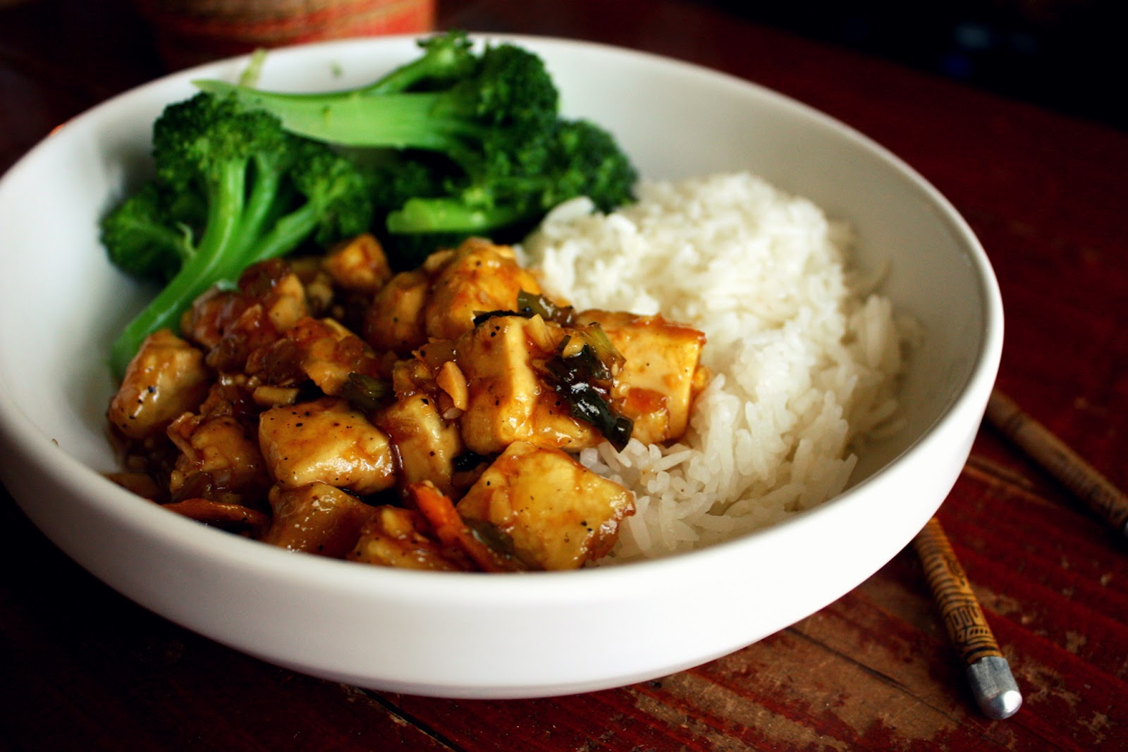 Spicy Ginger-Orange Tofu Recipe on Food52
