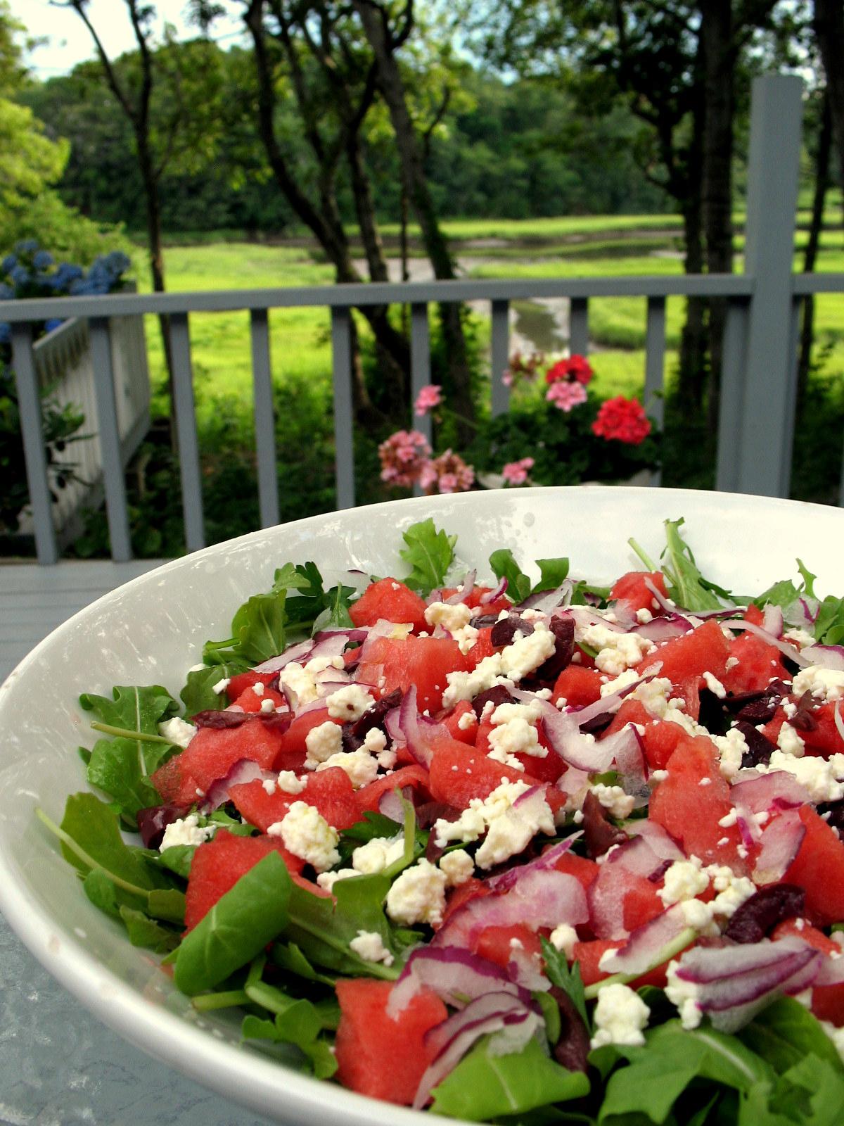Watermelon and Arugula Salad Recipe on Food52