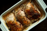 Oven Braised Buttermilk Chicken with Za&#x27;atar