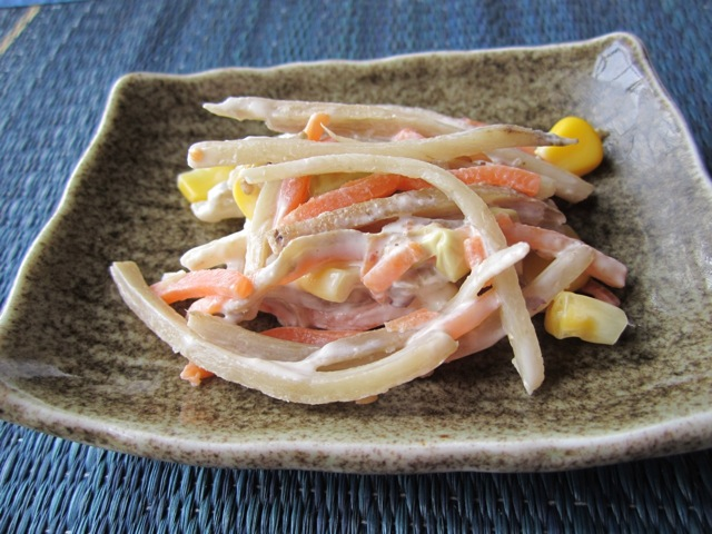 Crunchy Burdock Salad