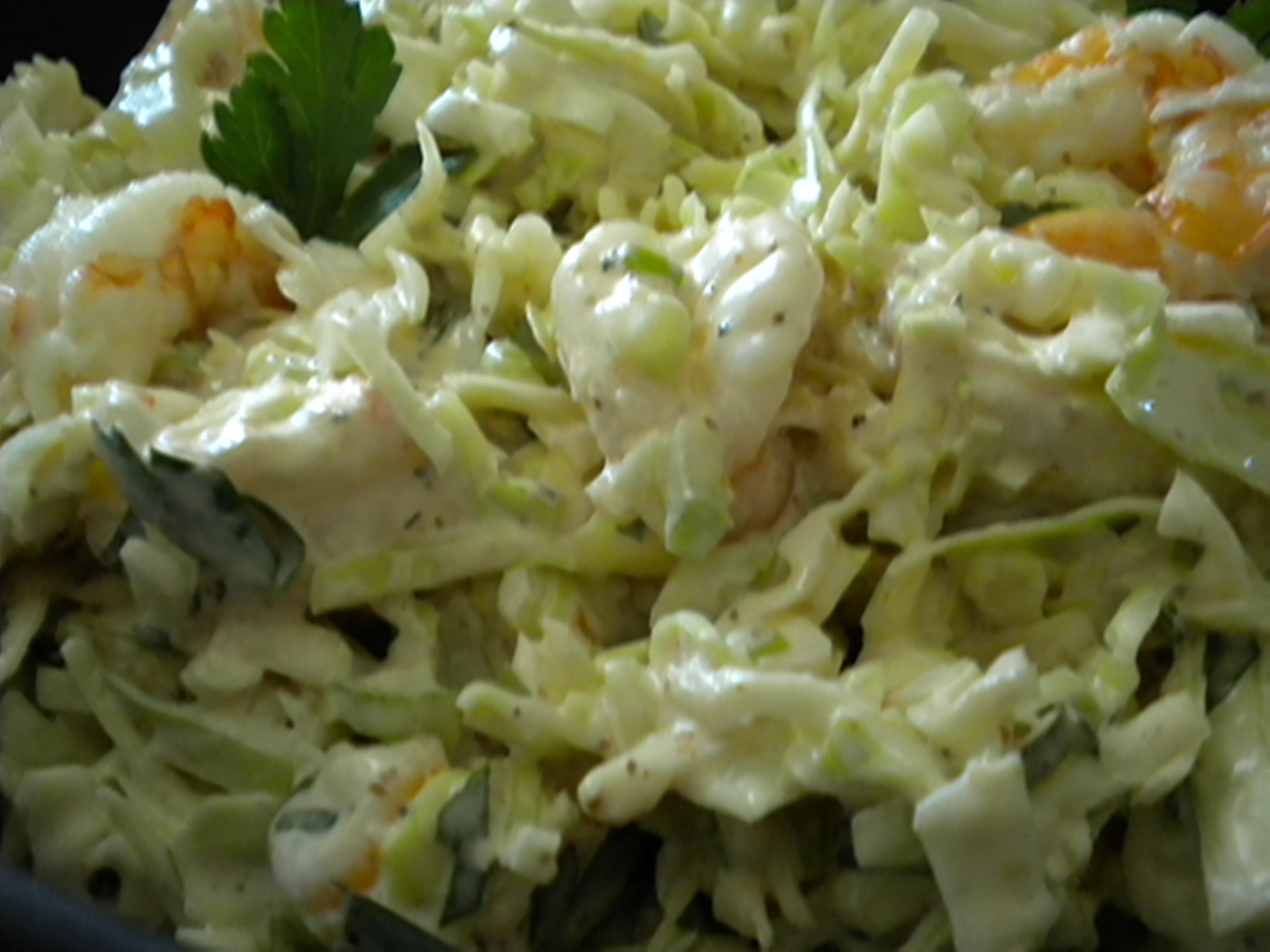 Shrimp Remoulade Slaw