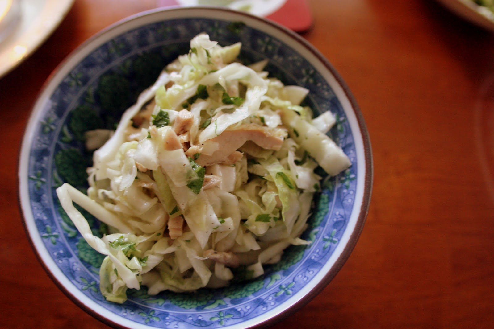 Vietnamese Chicken &amp; Cabbage Salad