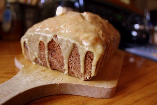 Lemony Olive Oil &amp; Almond Banana Bread