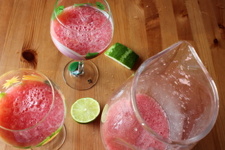 Watermelon on Ice